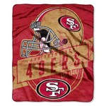 The Northwest Company San Francisco 49ers Grandstand Raschel Throw - view number 1