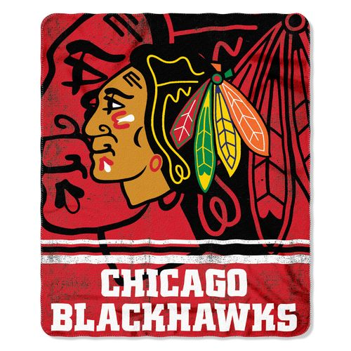 The Northwest Company Chicago Blackhawks Fade Away Fleece Throw