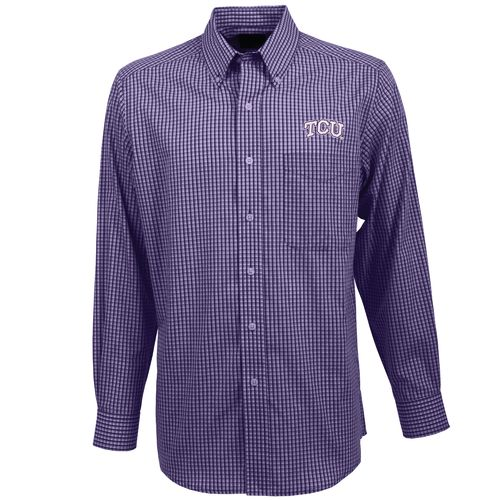 Antigua Men's Texas Christian University Associate Button-Down Shirt