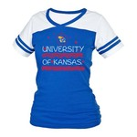 Boxercraft Kids' University of Kansas Powder Puff T-shirt