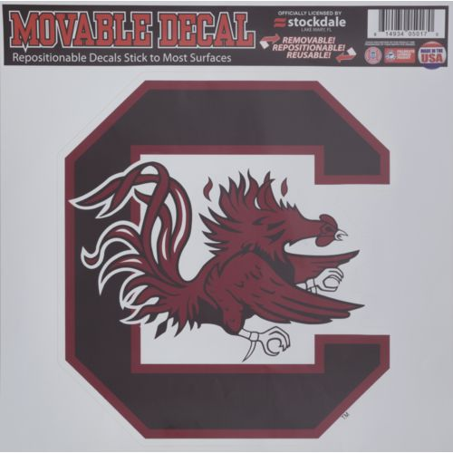 Stockdale University of South Carolina Single Logo Decal