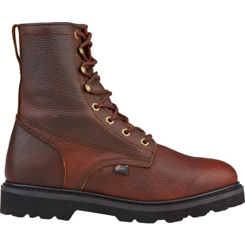 Justin Men's Premium Light Duty Lace-Up Work Boots