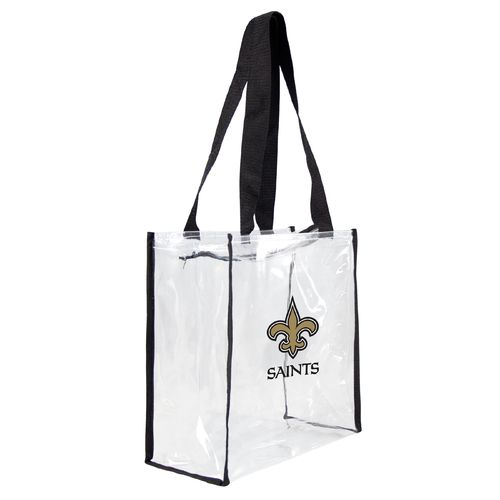 Little Earth Productions New Orleans Saints Zip Tote