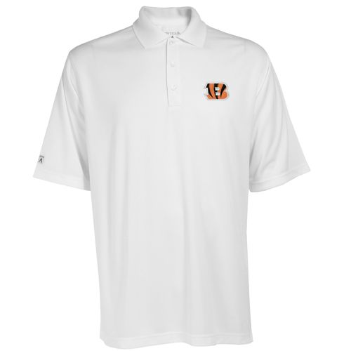 Antigua Men's Cincinnati Bengals Exceed Polo Shirt