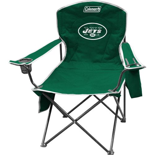 Display product reviews for Coleman® New York Jets Cooler Quad Chair
