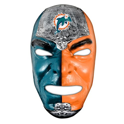 Franklin Adults' Miami Dolphins Fan Face Mask