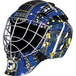 Franklin Boys' St. Louis Blues GFM 1500 Goalie Face Mask