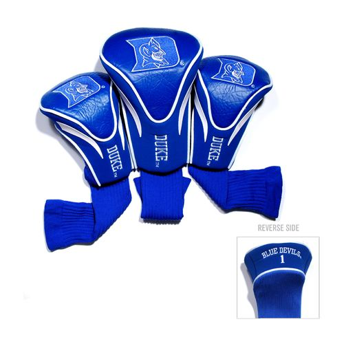 Team Golf Duke University Contour Sock Head Covers 3-Pack