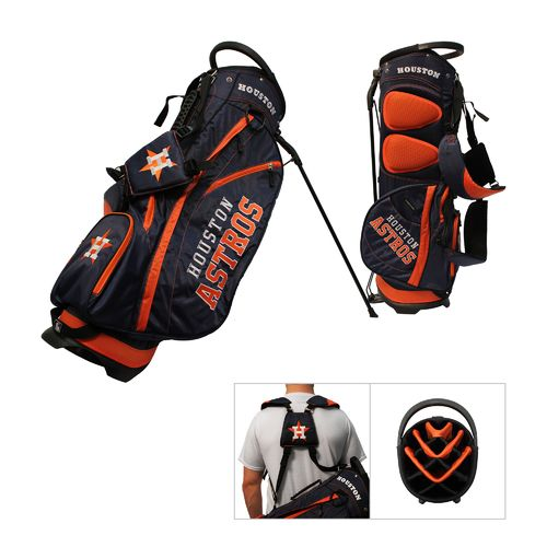 Team Golf Houston Astros Fairway 14-Way Golf Stand Bag