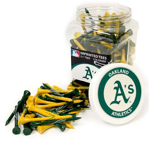 Team Golf Oakland Athletics Tees 175-Pack