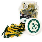 Team Golf Oakland Athletics Tees 175-Pack - view number 1
