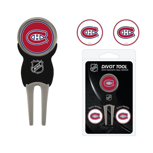 Team Golf Montreal Canadiens Divot Tool and Ball Marker Set - view number 1