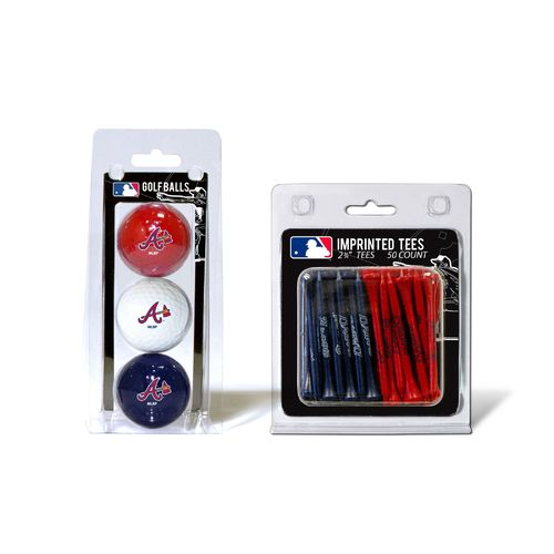 Team Golf Atlanta Braves Golf Balls and Tees Set - view number 1