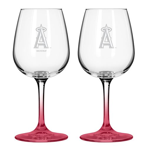 Boelter Brands Los Angeles Angels of Anaheim 12 oz. Wine Glasses 2-Pack - view number 1