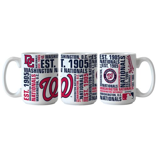 Boelter Brands Washington Nationals Spirit 15 oz. Coffee Mugs 2-Pack - view number 1