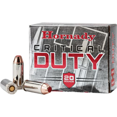 Display product reviews for Hornady FlexLock® Critical Duty® 10mm Auto 175-Grain Handgun Ammunition