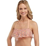 Reef Juniors' Breeze Ruffle Bandeau Swim Top