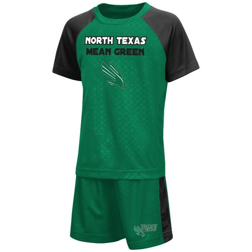 Colosseum Athletics Toddler Boys' University of North Texas Gridlock Set