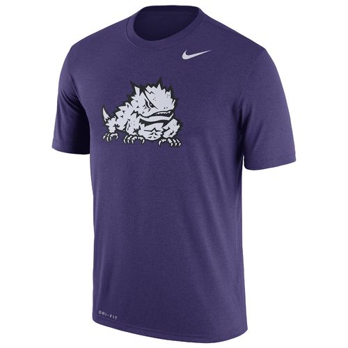 Nike Men's Texas Christian University Legend Dri-FIT Short Sleeve T-shirt - view number 1
