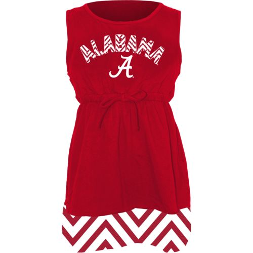 Klutch Apparel Toddlers' University of Alabama Chevron Dress