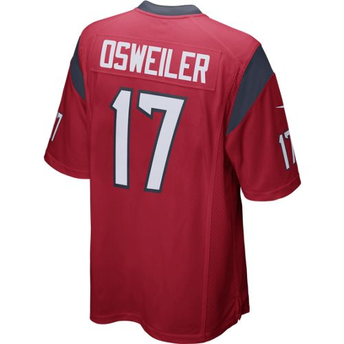 Nike Men's Houston Texans Brock Osweiler #17 Game Jersey