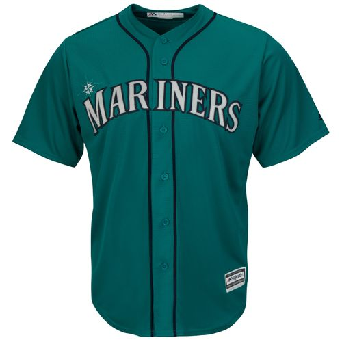 Majestic Men's Seattle Mariners Nelson Cruz #23 Cool Base Replica Jersey - view number 2