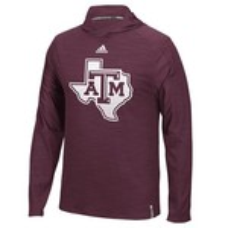 adidas™ Men's Texas A&M University Sideline Training Hoodie