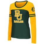 Colosseum Athletics™ Women's Baylor University Hornet Football Long Sleeve T-shirt