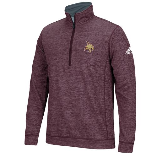 adidas™ Men's Texas State University climawarm™ Team Issue 1/4 Zip Pullover