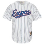 Majestic Men's Montreal Expos Andre Dawson #10 Cooperstown Cool Base Replica Jersey - view number 2