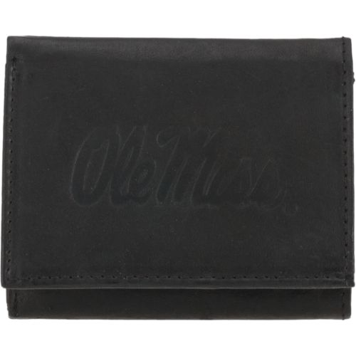Rico Men's University of Mississippi Trifold Wallet