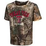 Colosseum Athletics™ Toddler Boys' Texas Tech University Blacktail Camo T-shirt
