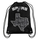 Team Beans San Antonio Spurs Drawstring Backpack