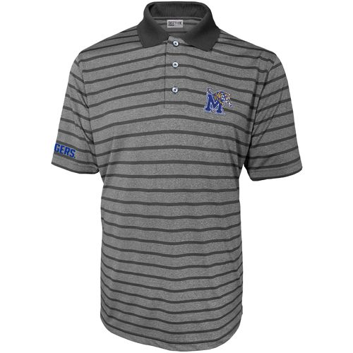 Majestic Men's University of Memphis Section 101 First Down Polo Shirt