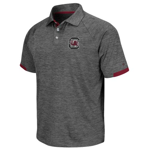 Colosseum Athletics Men's University of South Carolina Spiral Polo Shirt