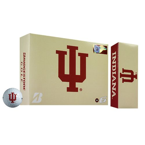Bridgestone Golf Indiana University e6 Golf Balls 12-Pack