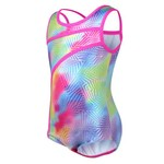 Capezio® Girls' Future Star Geo Foil Printed Leotard