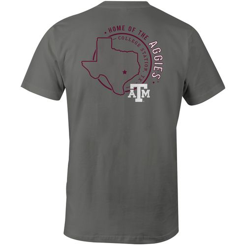 Image One Men's Texas A&M University Home State Comfort Color T-shirt