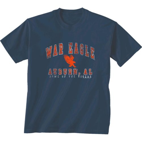 New World Graphics Men's Auburn University Local Phrase T-shirt