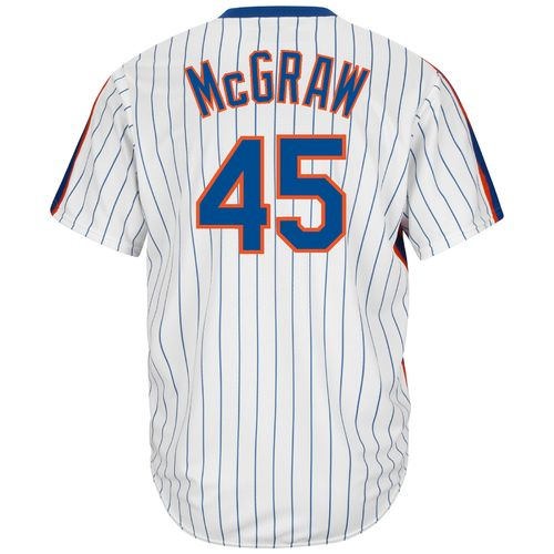Majestic Men's New York Mets Tug McGraw #45 Cool Base Cooperstown Jersey