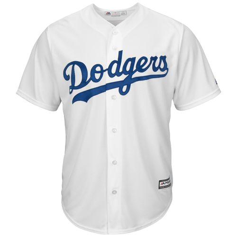 Majestic Men's Los Angeles Dodgers Orel Herscheiser #55 Cool Base Replica Jersey - view number 3