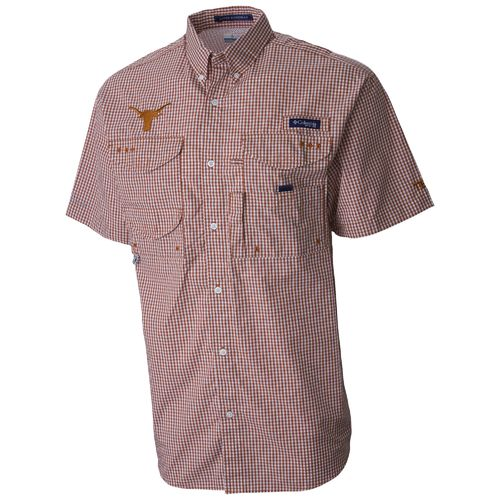 We Are Texas Men's University of Texas Bonehead Button Down Shirt