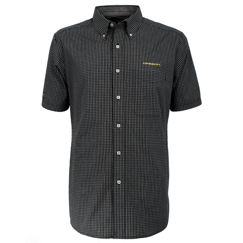 Antigua Men's University of Oregon League Short Sleeve Shirt - view number 2