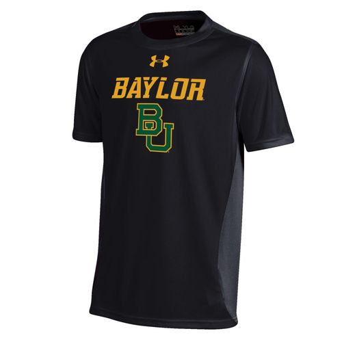 Under Armour™ Boys' Baylor University Short Sleeve Colorblock