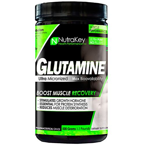 NutraKey L-Glutamine Dietary Supplement