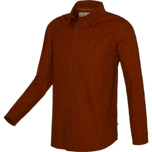 Magellan Outdoors Men's Brawny Solid Long Sleeve Shirt
