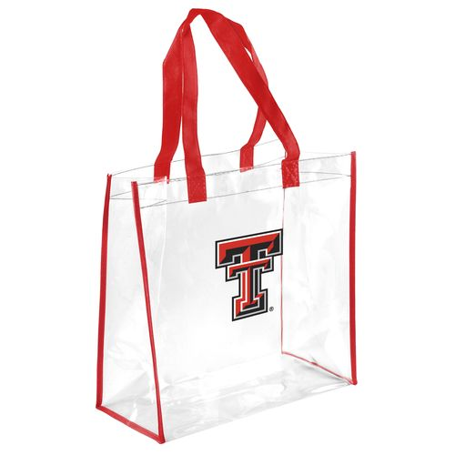 Team Beans Texas Tech University Clear Reusable Bag