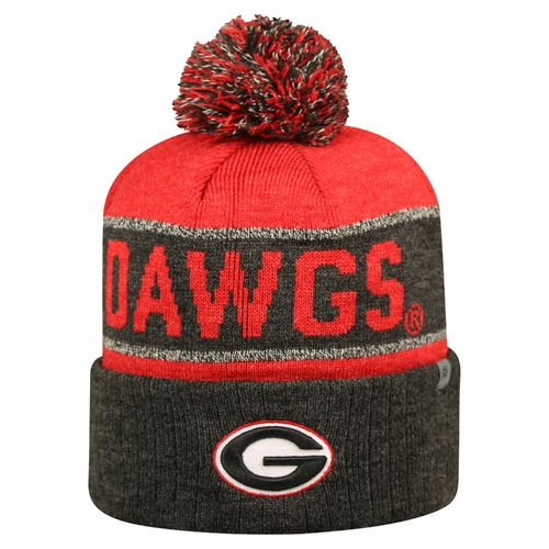 Top of the World Men's University of Georgia Below Zero Cuffed Knit Cap