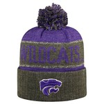 Top of the World Men's Kansas State University Below Zero Cuffed Knit Cap