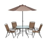 Mosaic 6-Piece Folding Patio Set - view number 1